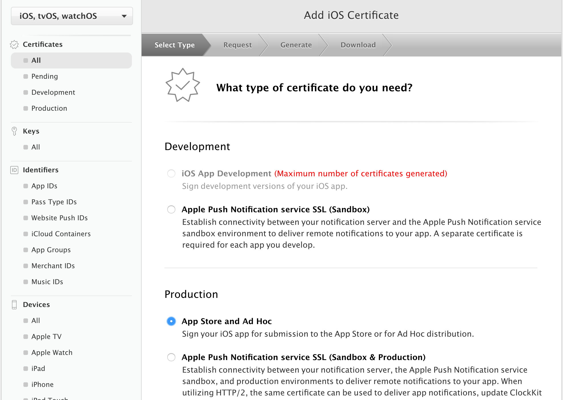 How to create Distribution Certificate for IOS App - AndroApp